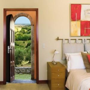 Ondoor Sticker Panorama : Provence in your bedroom !