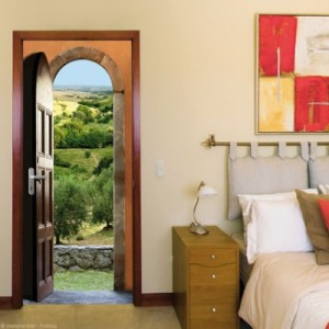 Ondoor Sticker Panorama : Provence in your bedroom !