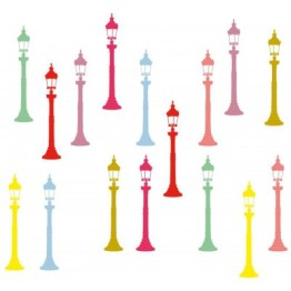 Déco urbaine poétique et colorée. http://www.wallsweethome.fr/fr/stickers-enfant/stickers-ado/stickers-y-de-larobecause-reverberes-couleurs-pop/