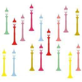 Déco urbaine poétique et colorée. http://www.wallsweethome.fr/fr/stickers-enfant/stickers-ado/stickers-y-de-larobecause-reverberes-couleurs-pop/