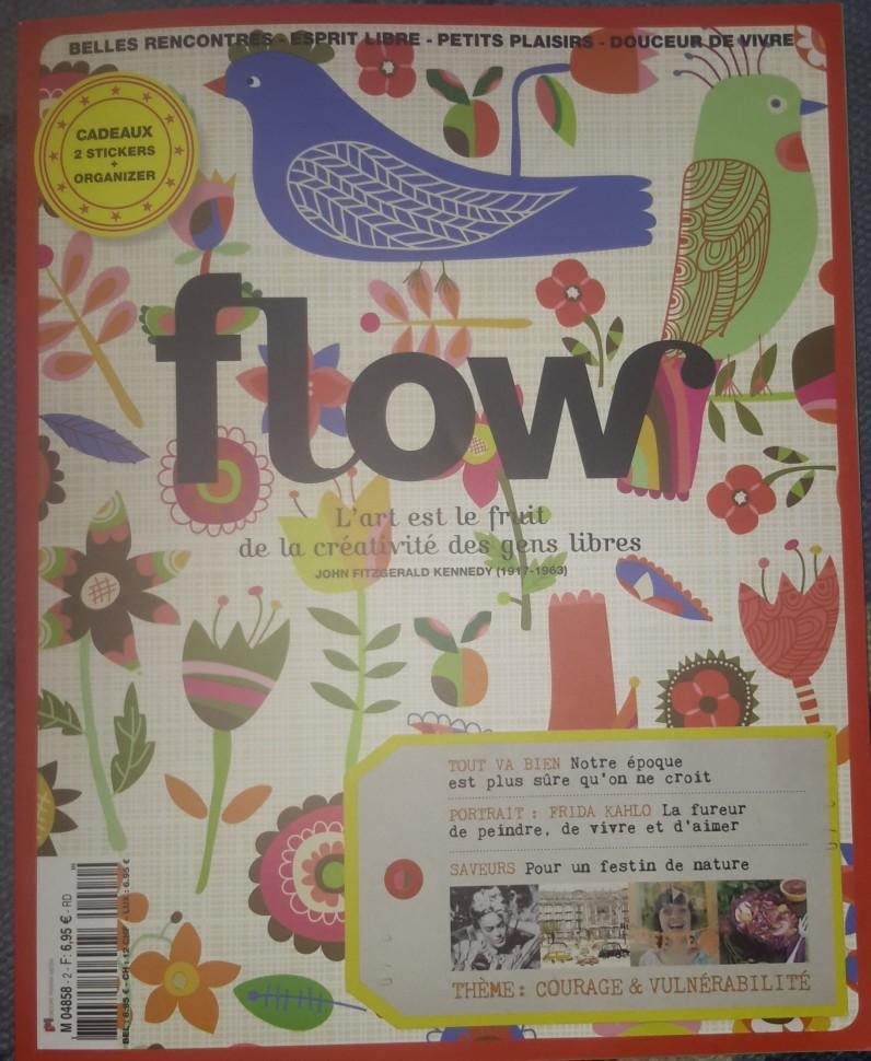 La couverture du n°2 de Flow !