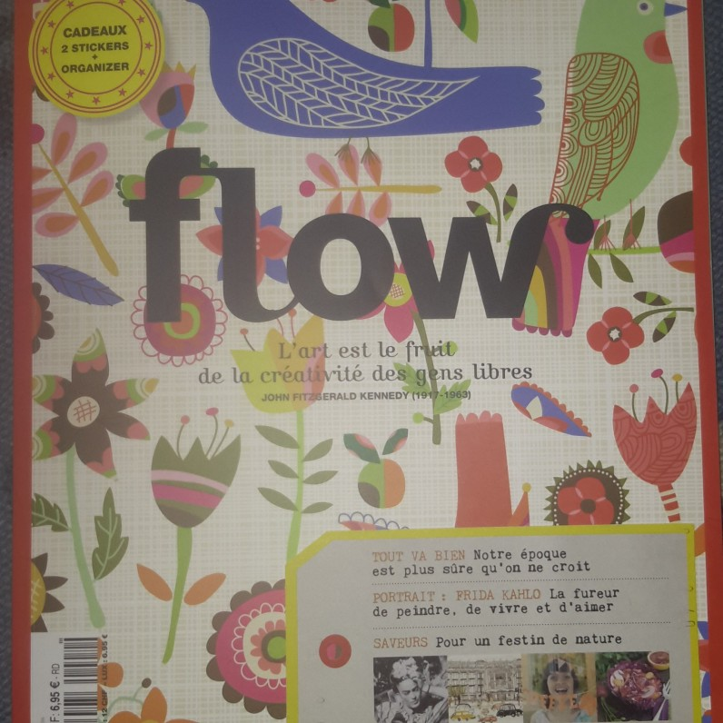 La couverture du n°2 de Flow !