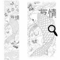 http://www.wallsweethome.fr/en/practical-deco/adhesive-colouring-pictures/giant-colouring-sticker-zen/