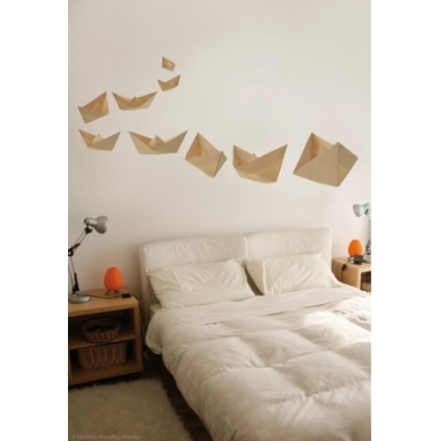 Bateaux origami http://www.wallsweethome.fr/fr/stickers-enfant/stickers-chambre-enfants/stickers-origami-bateaux/