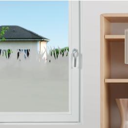"""Décor de fenêtres : stickers effet dépoli """"Herbe"""""""