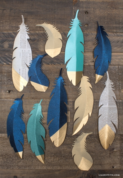 gorgeous_gold_tipped_paper_feather