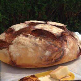 Miche de pain à l'ancienne