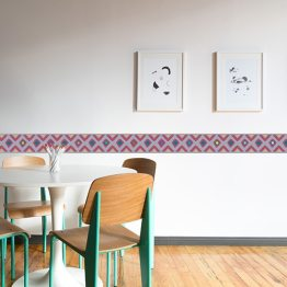 Décoration murale tissus wax - Décoration ethnique d'Afrique