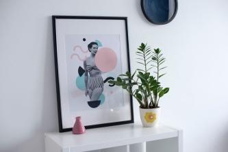 Décoration chaleureuse aux couleurs pastel pour un style Hygge ou une ambiance Lagom